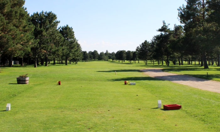 Indian Lakes Golf Course - Southwest: Golf for 2 or 4 with Buckets of Range Balls at Indian Lakes Golf Course (Up to 55% Off). Four Options Available.