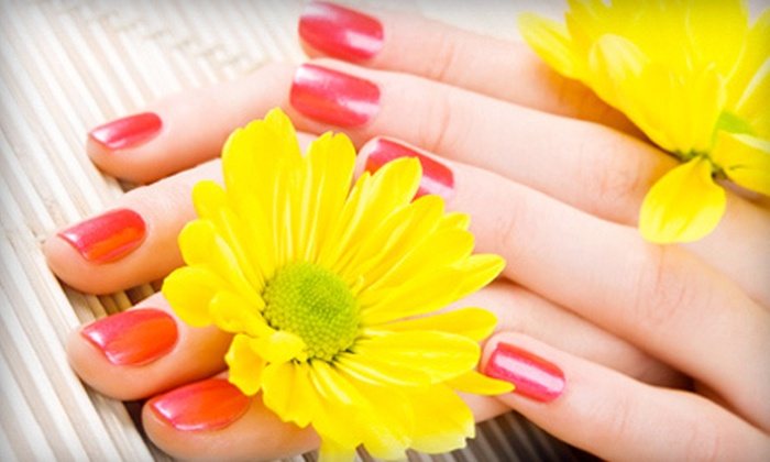 Nail Spa - West Jordan: One, Two, or Three Shellac Gel Color Manicures