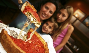 Pinocchio's Pizza & Pub: $12 for $20 Worth of Pizza, Pasta, and American Food for Two or Four at Pinocchio's Pizza & Pub