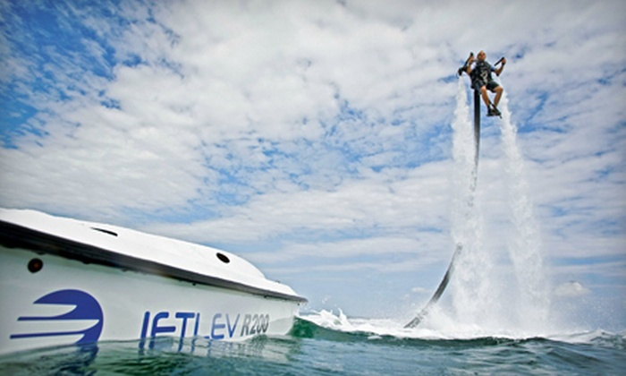 Jet Pack Water Adventures Inc. - Lancaster: 30-Minute Water-Jetpack Flight with Instruction for One or Two at Jet Pack Water Adventures (Up to 52% Off)