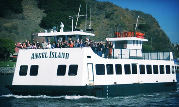 Angel Island Tiburon Ferry - Belvedere Tiburon: 90-Minute Sunset Bay Cruise for Two on Friday or Saturday from Angel Island Tiburon Ferry (Up to Half Off)