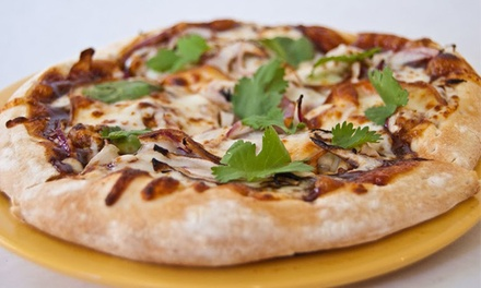 $12 for Two Groupons, Each Good for $10 Worth of Pizzeria Cuisine at Pizza Solo($20 Total Value)
