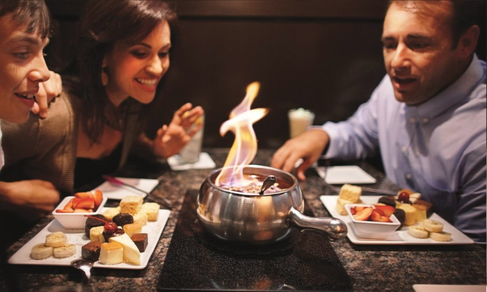 The Melting Pot  - Multiple Locations: Fondue Package for 2 with Cheese & Chocolate Fondue or Salads & Savory Entrees at The Melting Pot (Up to 45% Off)