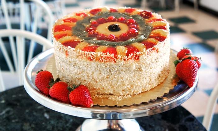 Signature fruit cake classic bakery groupon for Classic bake house