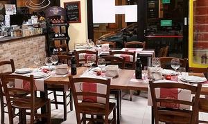 Millefoglie Bio: Menu pranzo di lavoro con calice di vino per 2 o 4 persone al ristobar Millefoglie Bio di Saronno (sconto fino a 52%)