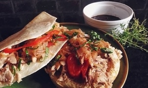 The Cultured Swine: Barbecue Meal for Two or Four at The Cultured Swine (40% Off)