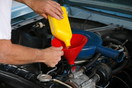 FullService Oil Change with Tire Rotation and Brake Inspection at High Tech Auto (69% Off)