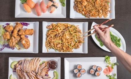 Menú japonés para 2 o 4 personas con entrante, principal, postre y bebida en Koyama (hasta 48% de descuento)