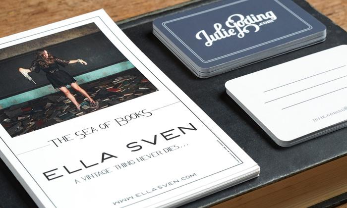 artmediaprint - Miami: 100 Custom Business Cards at artmedia print (80% Off)