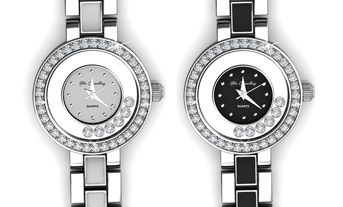 $39 for a Women's Watch Made with Crystals from Swarovski® (Don't Pay $264.97)