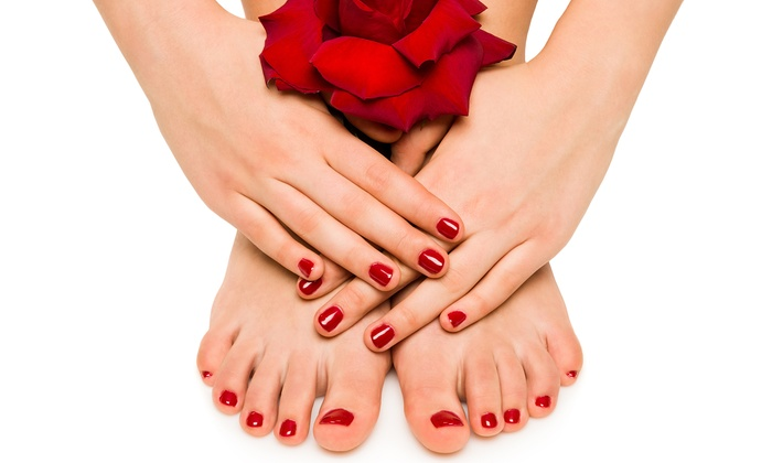 Shellac Manicure, Pedicure, or Both at The Colored Nail (Up to 50% Off