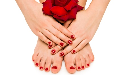 Shellac Manicure, Pedicure, or Both at The Colored Nail (Up to 50% Off)