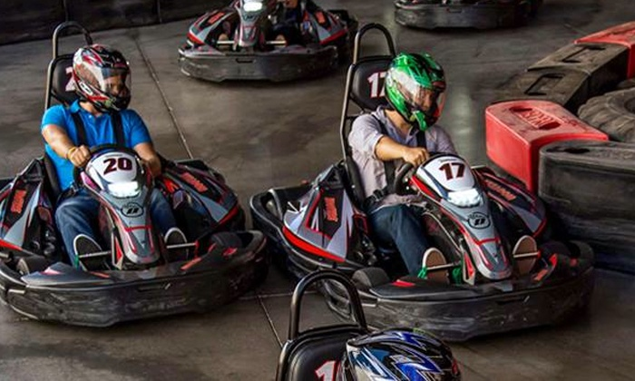 Octane Raceway - Scottsdale: Two or Four Kart Races with Helmet Rental for One or Two at Octane Raceway (Up to 54% Off)