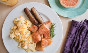 M's Cafe: Breakfast, Lunch, or Dinner for Two or Four, or Takeout from M's Cafe (Up to 45% Off)