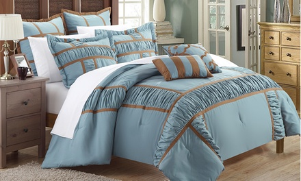 7-Piece Contemporary Design Comforter Sets
