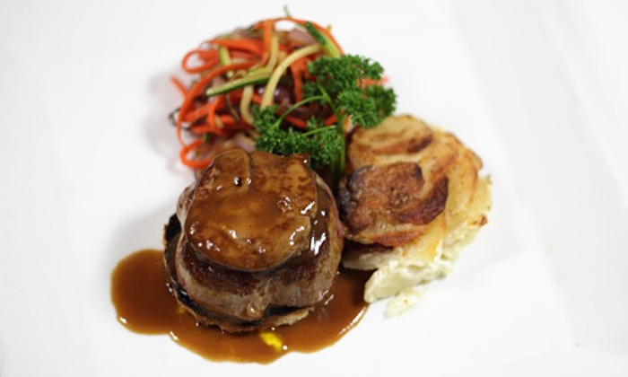 Bistro 1902 - Downtown Hollywood: $55 for a Seven-Course French Dinner for Two with Unlimited Wine at Bistro 1902 ($142 Value)