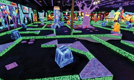 Four or Eight Rounds of Mini Golf at Monster Mini Golf (Up to 50% Off)