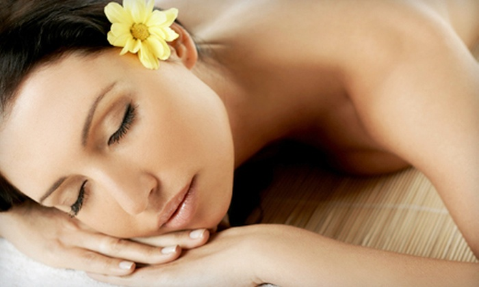 The Vintage Spa - Yellow Mountain: Spa Manicure with a 30-Minute Swedish Massage, or a 45-Minute Swedish Massage at The Vintage Spa (Up to 55% Off)