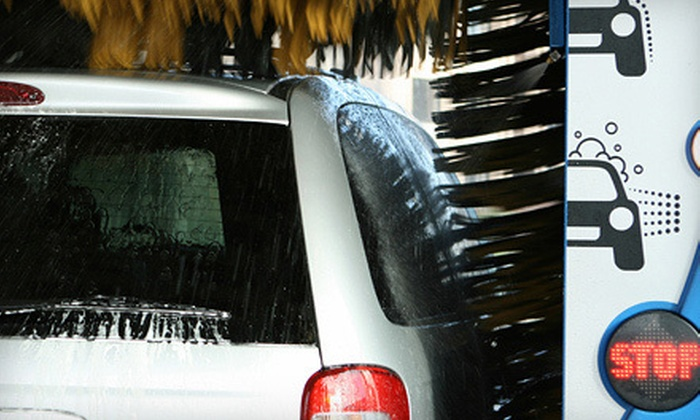 AutoStar Car Wash - Fairland: Express Detail for a Car, Minivan, or SUV, Four Washes, or Headlight Restoration at AutoStar Car Wash (Up to 67% Off)