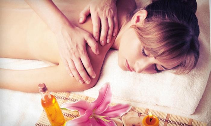 Merlot Spa - Hacienda La Puente: Massage with Essential Oil, Signature Facial, or Both at Merlot Spa (Up to 56% Off)
