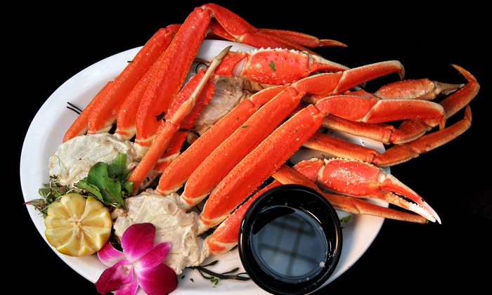 Blue Water Seafood & Crab - Willow Glen: Snow-Crab Dinner with Drinks for Two or Four at Blue Water Seafood & Crab (Up to 38% Off)