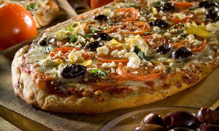 Pizza Fusion - Multiple Locations: Healthy Family Meal or $10 for $20 Worth of Pizzeria Cuisine at Pizza Fusion. Two Locations Available.