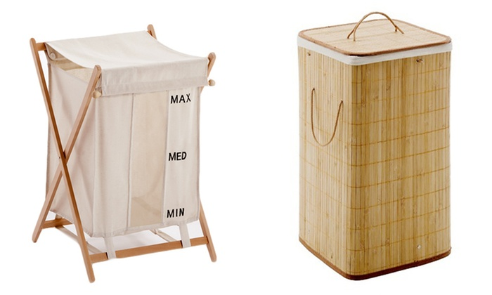 Gedy Laundry Hampers: $28.99 for a Gedy Laundry Hamper ($76 List Price). Two Styles Available. Free Shipping.
