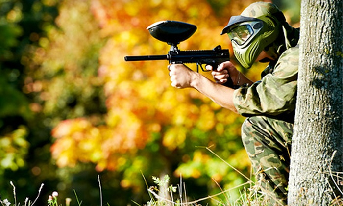 i70 Paintball - Huber Heights: Paintballing Package for One or Two with Paintballs and Gear at i70 Paintball (Up to 53% Off)