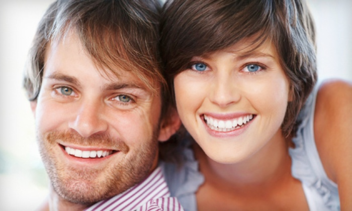 Calm Dental - Calm Dental: Dental Exam Package with Teeth Whitening or Cleaning at Calm Dental (Up to 92% Off)