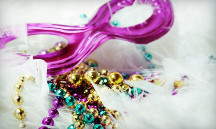 Mardi Gras Gala - Bradenton: Mardi Gras Gala for One or Two with Dancing and Cajun Dinner on February 12 at Powel Crosley Estate (Up to 55% Off)