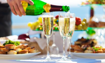 Weekend Brunch with Bubbly Wine