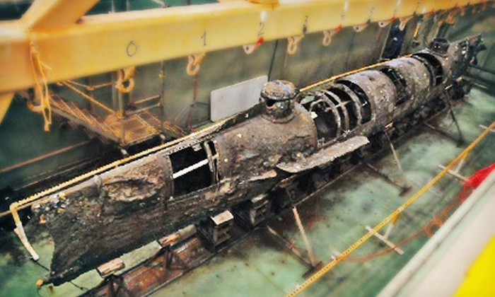 "H. L. Hunley Submarine - North Charleston: ""H. L. Hunley"" Submarine-Museum Tour for Two or Four (Up to Half Off)"