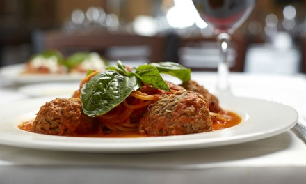 Upscale Italian Food and Drinks at Passione (Up to 50% Off). Three Options Available.