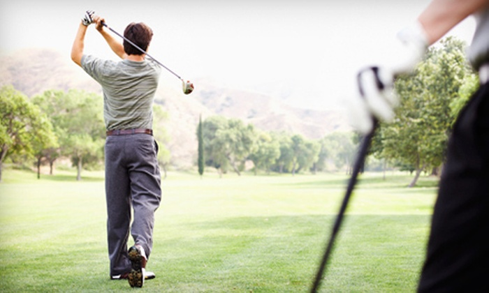 Cordova Golf Course - Sacramento : Weekday or Weekend 18 Holes of Golf with Range Balls for Two or Four at Cordova Golf Course (Up to 59% Off)