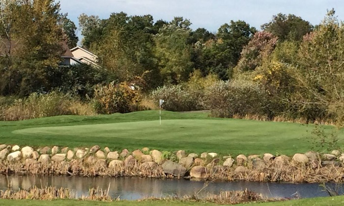 The Ponds Golf Course - Nowthen: Golf Outing with Cart for Two or Four at The Ponds Golf Course and Restaurant in St. Francis (Up to 52% Off)