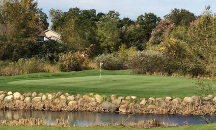 Golf Outing with Cart for Two or Four at The Ponds Golf Course and Restaurant in St. Francis (Up to 52% Off)