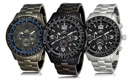 Men's Chronograph Stainless Steel Watches