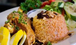Mediterranean Grill: $12 for $20 Worth of Mediterranean Cuisine at Mediterranean Grill