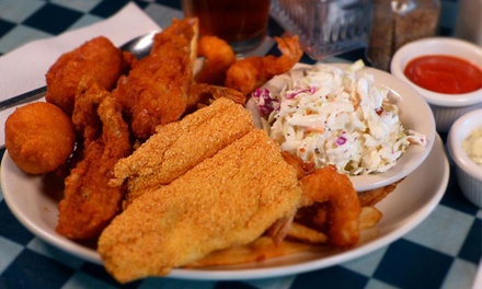 $11.50 for $20 Worth of Seafood at Shrimp Galley