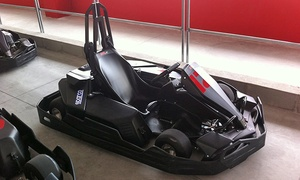 Kart Savignone: 2 sessioni in kart con aperitivo o Gran Premio fino a 6 persone al Kart Savignone (sconto fino a 51%)