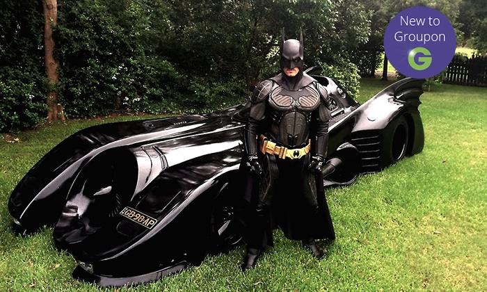 Batmobile Australia - Camden: $250 for a Batmobile Joyride Experience for One or $2,500 for a Four-Hour Joyride for 11 People with Batmobile Australia