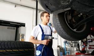 Kfz-Werkstatt & Car-Cosmetic Beyer: Reifenwechsel, Große Inspektion oder Bremsen-Service bei Kfz-Werkstatt & Car-Cosmetic Beyer (bis zu 47% sparen*)