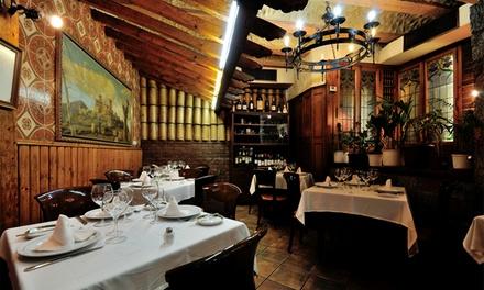 Chuletón de ternera gallega para 2 o 4 con entrante, postre y botella de vino desde 24,95 € en Ópera