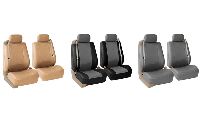 Bf Leather Bucket Seat Covers Groupon Goods