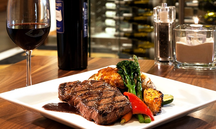 XS Lounge and Grill - Northeast Calgary: Contemporary Bistro Meal for Two or Four at XS Lounge and Grill (Up to 39% Off)