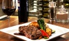 XS Lounge and Grill - Northeast Calgary: Contemporary Bistro Meal for Two or Four at XS Lounge and Grill (Up to 41% Off)