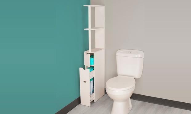 Mobiletto da bagno con cassetti groupon for Groupon mobili bagno