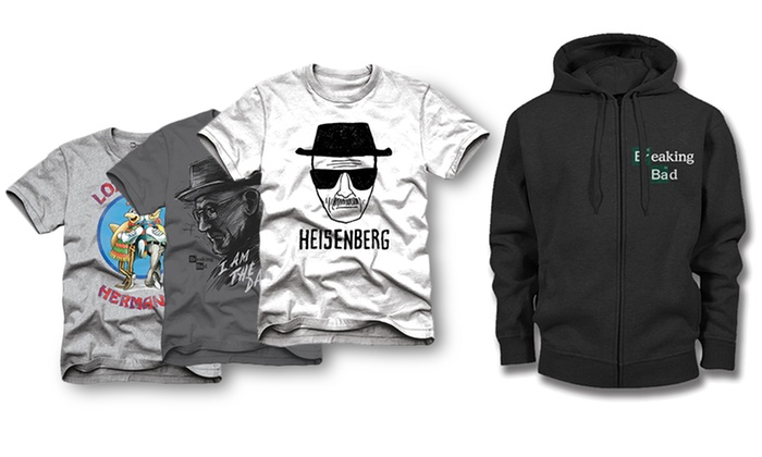Breaking Bad Tees and Hoodies: Breaking Bad Tees and Hoodies. Multiple Designs Available. Free Returns.