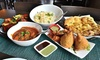 43%  Off Indian Food and Drinks for Two or More