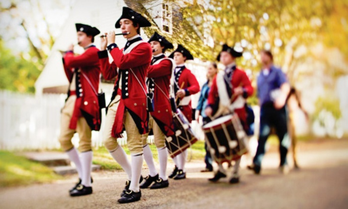 Colonial Williamsburg - Williamsburg: Single-Day Youth or Adult Colonial Williamsburg Ticket (52% Off)